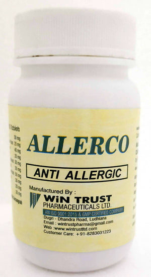 Wingen Allerco Tablets 100Tablets (Ayurvedic) - Ayush Care