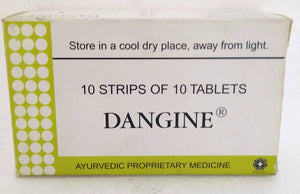 Dangine Tablets 100Tablets (Ayurvedic) - Ayush Care