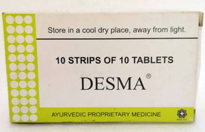 Desma Tablets 100Tablets (Ayurvedic) - Ayush Care