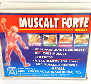 Aimil Muscalt Forte Tablets 30Tablets (Ayurvedic) - Ayush Care