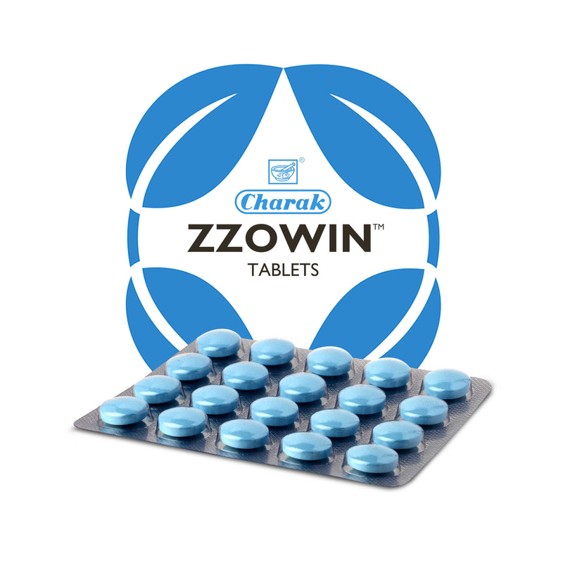 Charak Zzowin 20Tablets (Ayurvedic) - Ayush Care