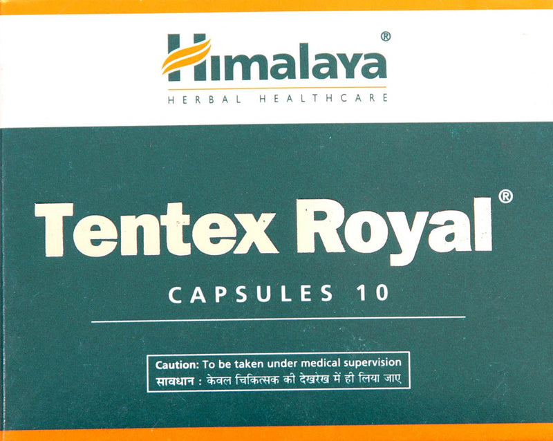 Himalaya Tentex Royal 10 Capsules (Ayurvedic) - Ayush Care