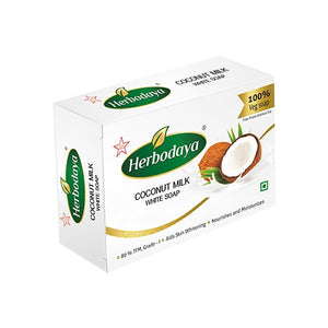 Herbodaya Coconut Milk Soap 75gm - Ayush Care