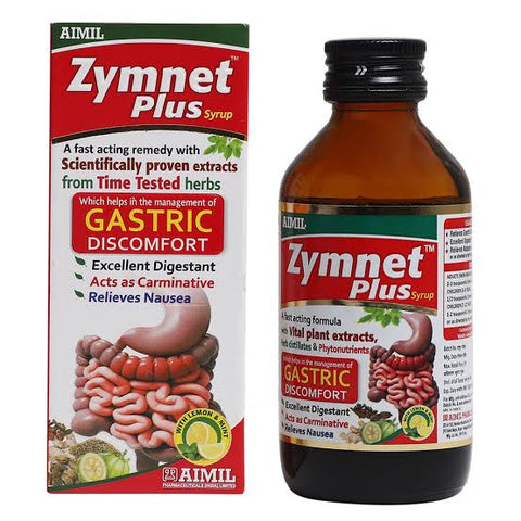 Aimil Zymnet Plus Syrup 200ml - Ayush Care