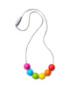 Kids Rainbow Ball Necklace