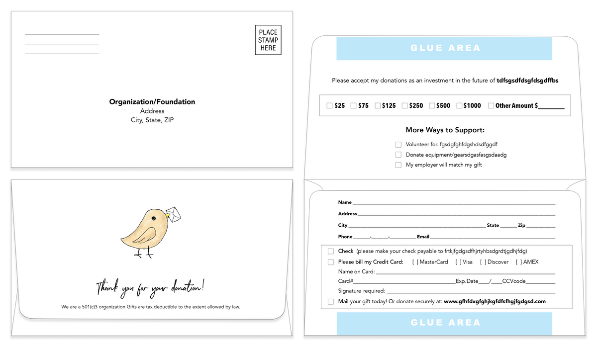 Remittance Envelope Template 07