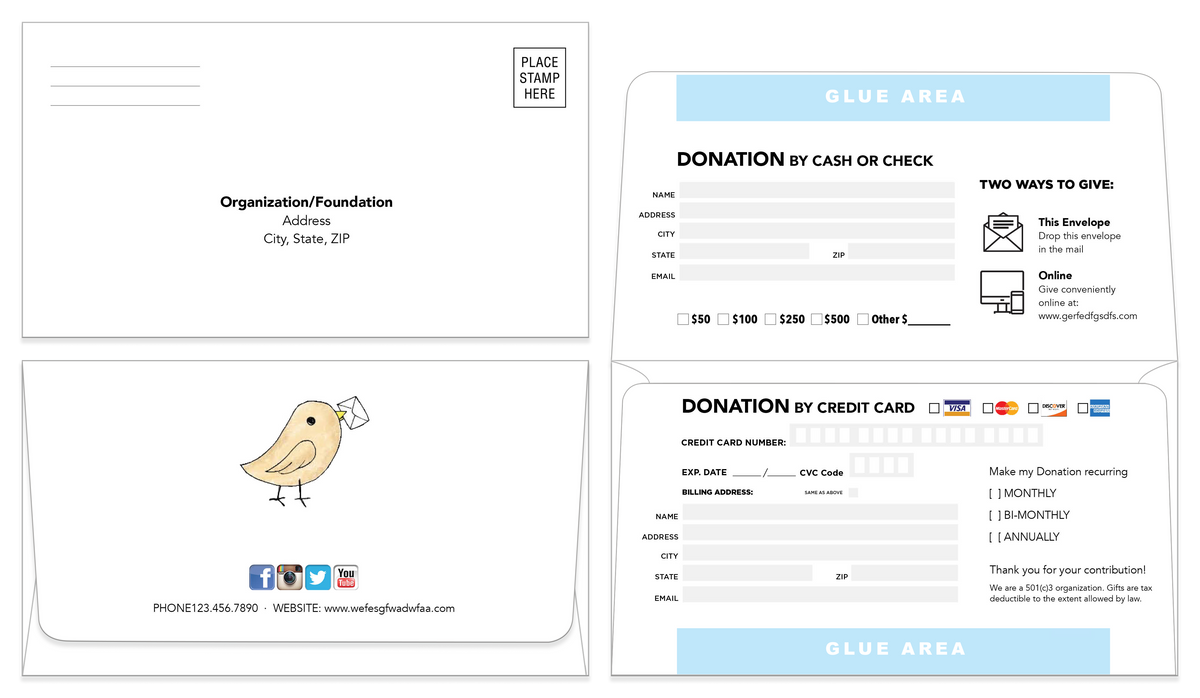 Remittance Envelope Template 10