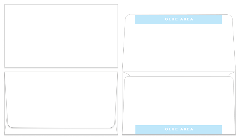 Blank Remittance Envelope Templates for Design