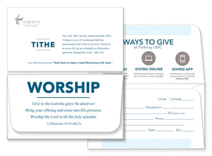 Donation Envelopes for Church or Remit