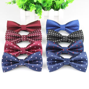 Fashion Bowties Groom Mens Plaid Painted Cravat For Men Dot Butterfly Gravata Designer Male Star Marriage Wedding Bow Ties