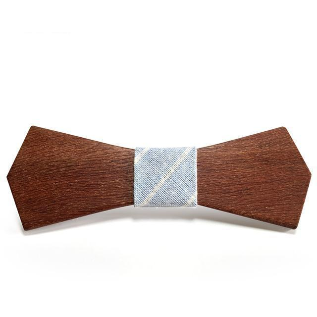 Fashion Wooden Bow Tie