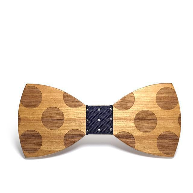 Romantic Wooden Bow Tie