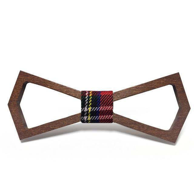 Wooden Bow Tie Handmade From Classic Bow Ties