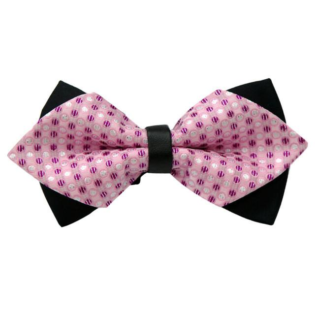 JECKSION Fashion Unique Adjustable Bow Tie In Nine different Colors