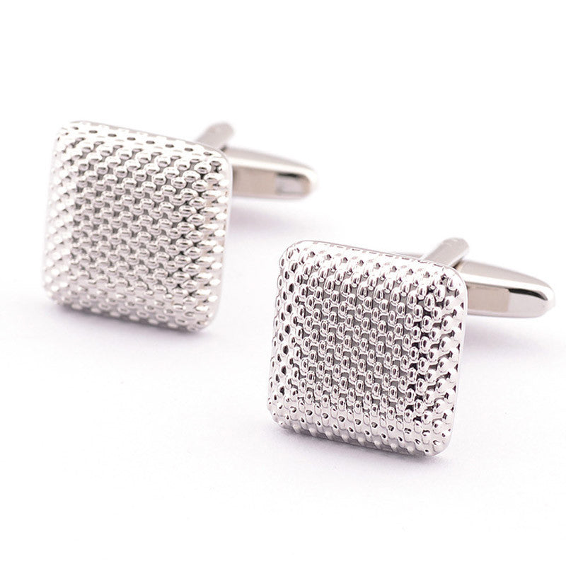 New Gentleman Men Gift Silver Color Cuff Links Can't beat the Price