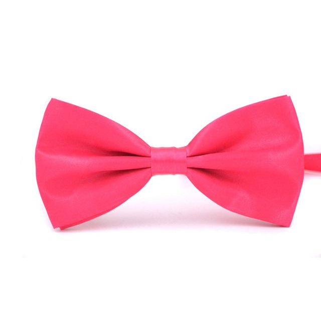 Fashion 1PC Gentleman Men Classic Satin Bow Tie For Any Occasion Adjustable Bow Tie knot