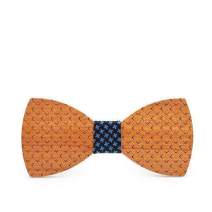 beautiful wooden bow tie