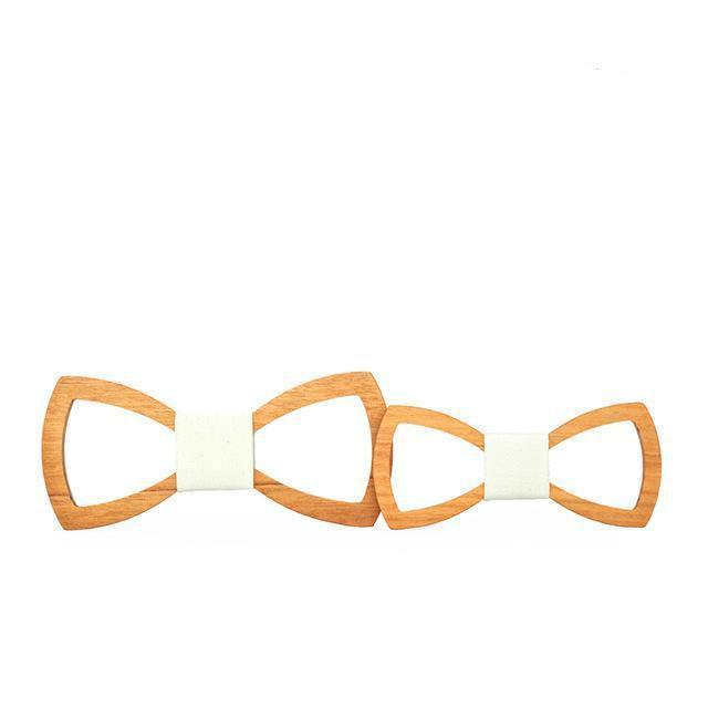 Family Wooden Bow Tie