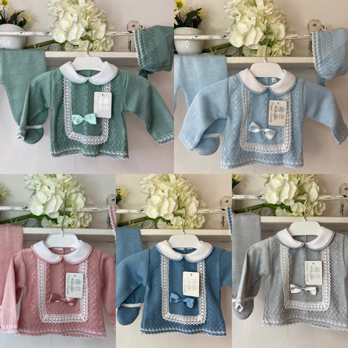 SS21 Knitted 3piece sets 602