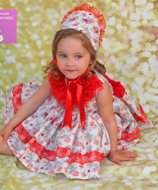 VALERIA dress and knickers (bonnet sold separate) 3789