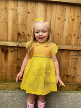 Lemon Smocked Dress