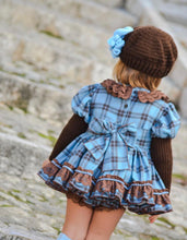 SADIE Dress and bonnet 677 (please note the hat is different in photo)