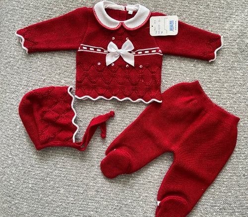 KNITTED SET 12months 655
