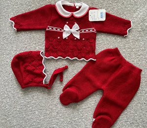 KNITTED SET 3819
