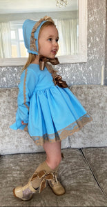 VENICE collection (dress knickers and bonnet)