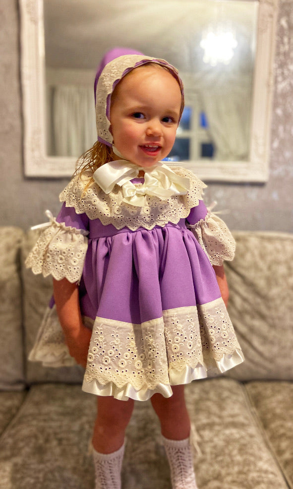 EXCLUSIVE Lucia Dress Set Lilac