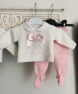 Suit white/pink 655