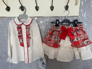 CHRISTMAS EXCLUSIVE 2020 SKIRT SET