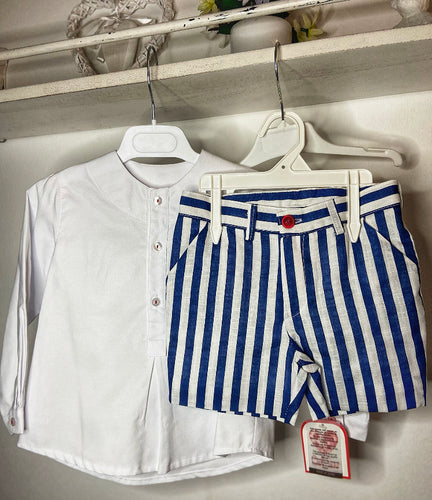 Navy collection Boys shorts and shirt