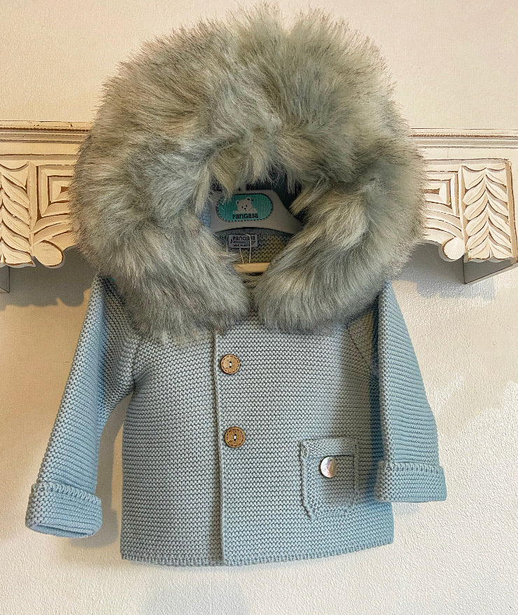 Pangasa Blue Faux Fur