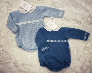 Stefano romper blue (left)