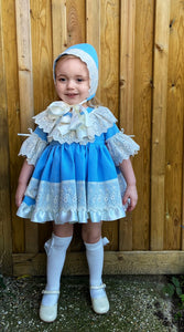 EXCLUSIVE Lucia Dress Set Blue