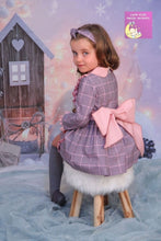 LUNA LILAC DRESS KNICKERS AND BONNET