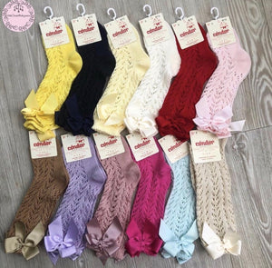 CONDOR SUMMER SOCKS (pink, white, cream) 7690