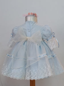 ICE QUEEN Blue Dress