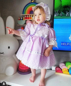 ICE QUEEN Dress Lilac Dress