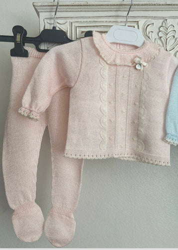 20200 knitted set PINK