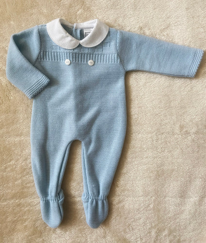 HEATH Romper Blue