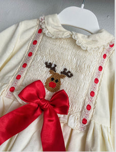 RUDOLPH SMOCK DRESS - NEW 2020 WINTER SONATA