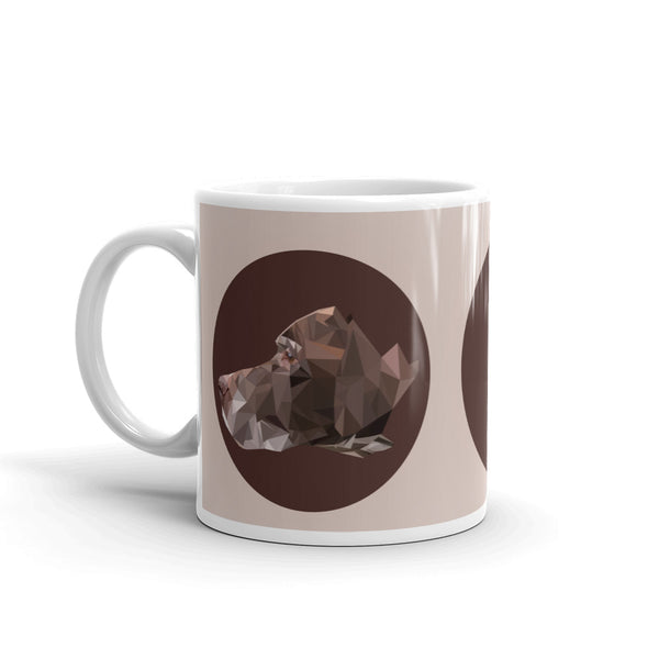 pointer coffee mug