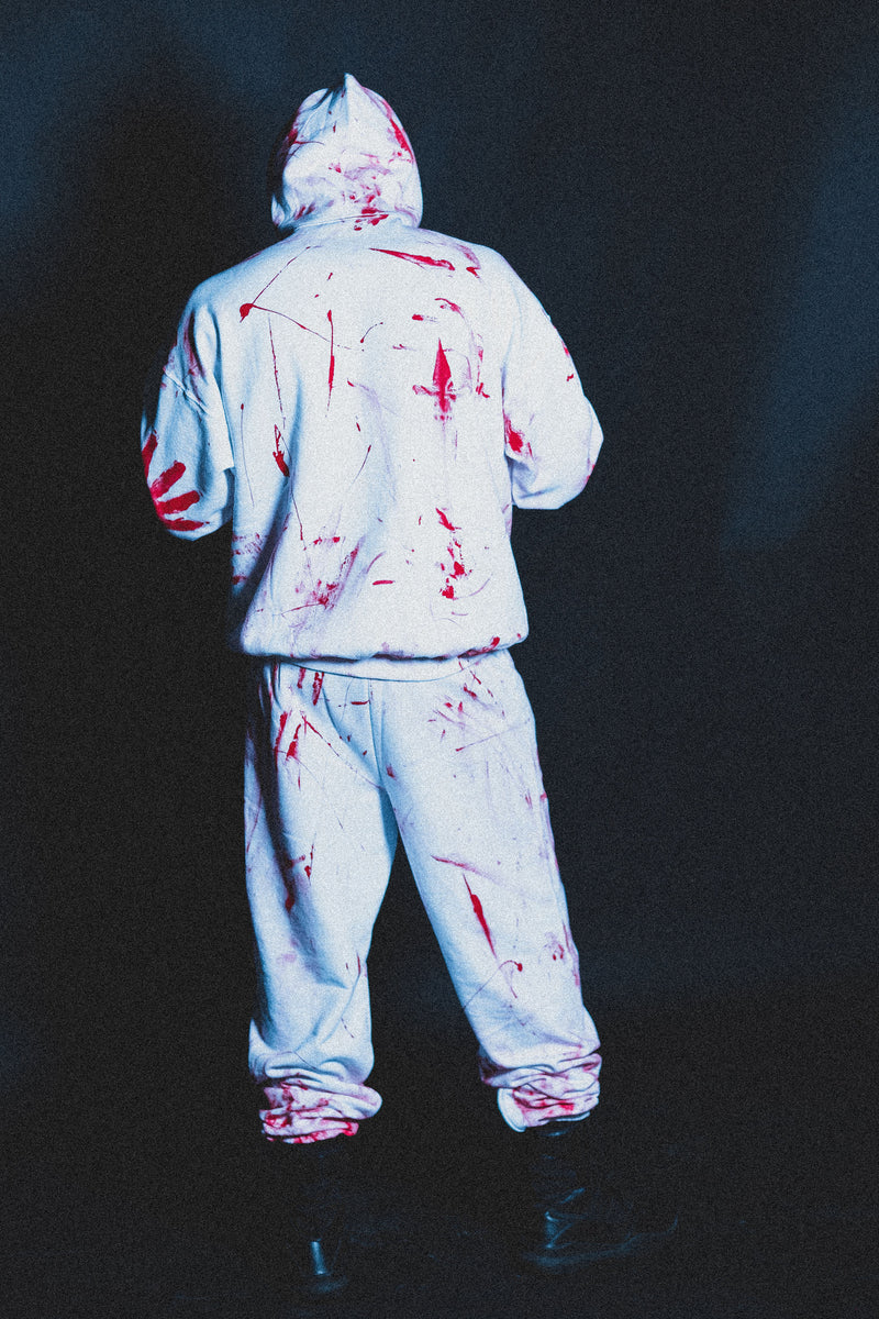 """Bloody"" Sweatpants"