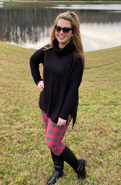 Buffalo Plaid Leggings
