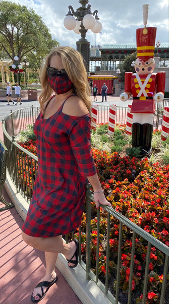 Buffalo Plaid Gracie Dress