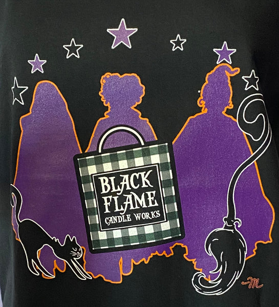 Black Flame Candle Works Limited Edition Shirt by Michele Atwood