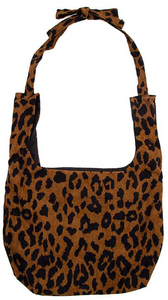Animal Print Adjustable Tote Bag