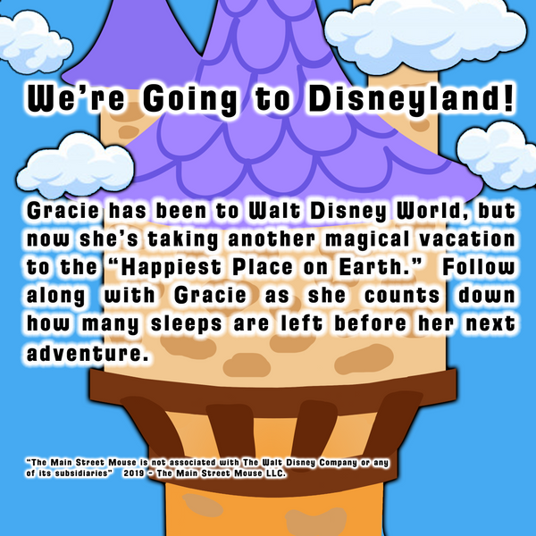 How Many Sleeps Till Disneyland? by Michele Atwood